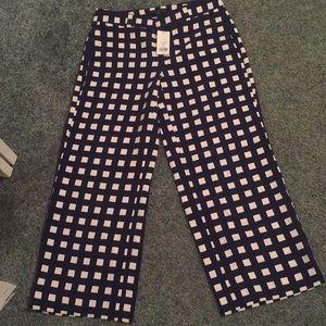 NWT banana republic Olivia Palermo checkered pant